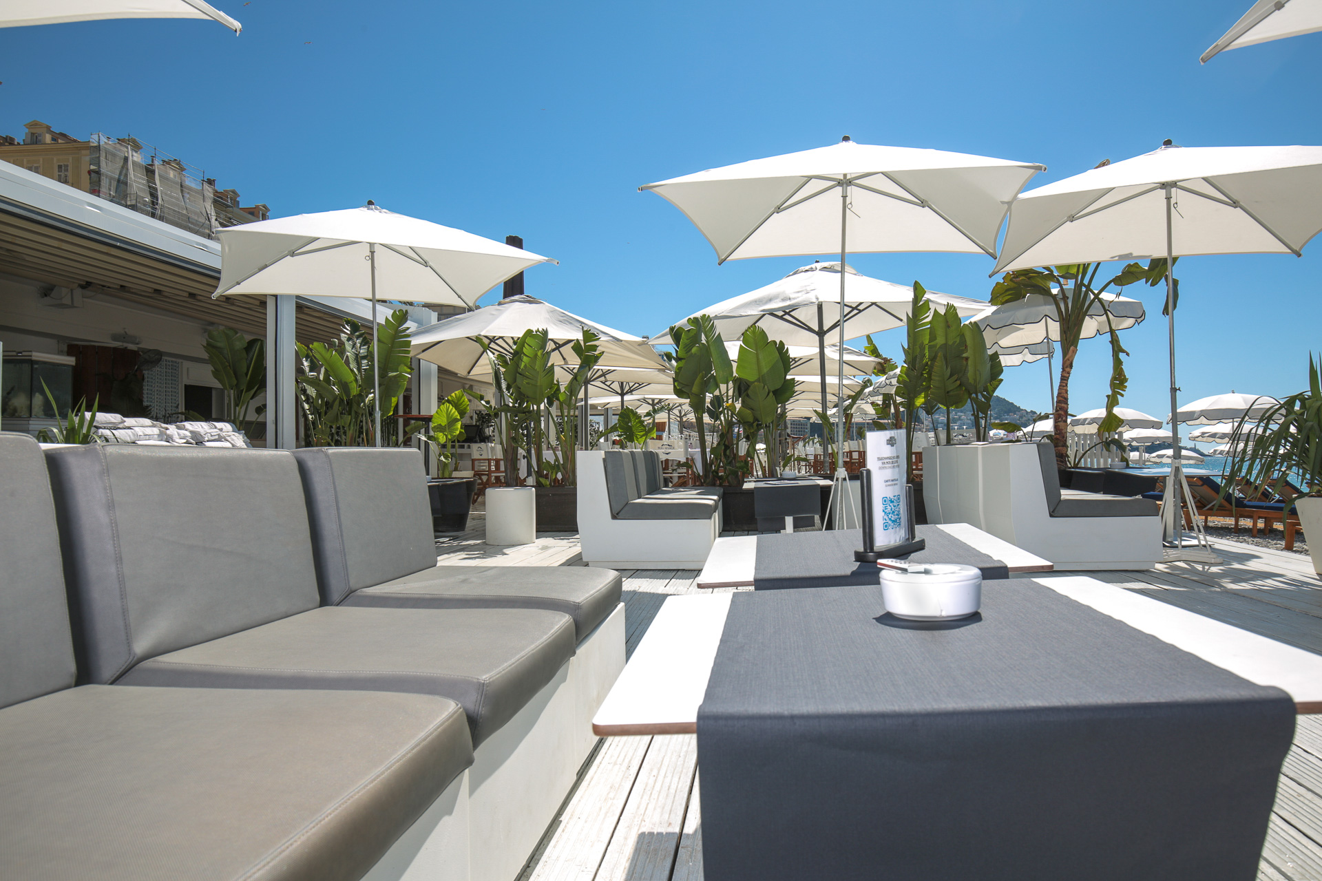 Summer lounge au Beau Rivage