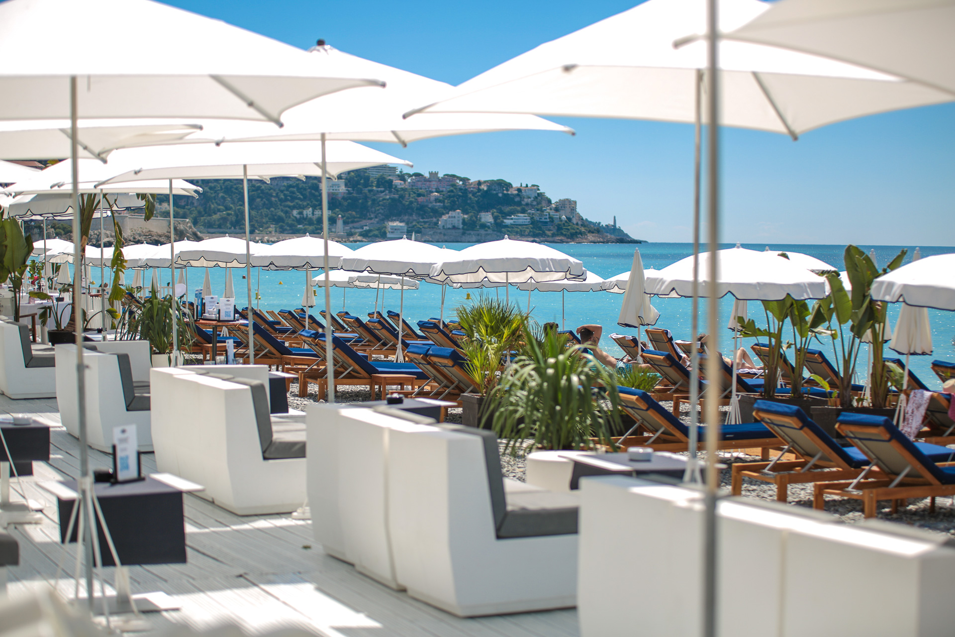 Summer lounge - Beau Rivage Nice