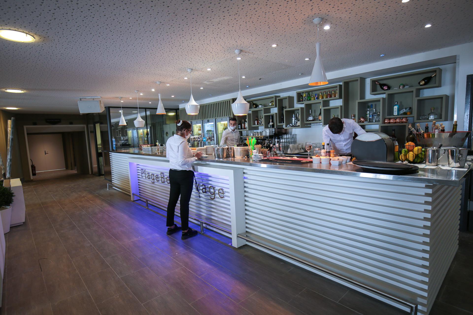 Restaurant Plage Beau Rivage à Nice