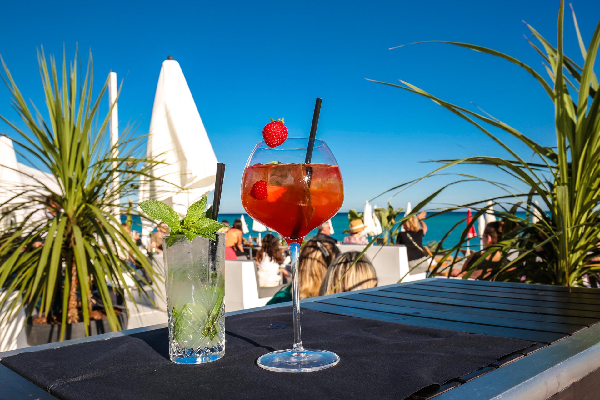 Cocktails Beau Rivage à Nice